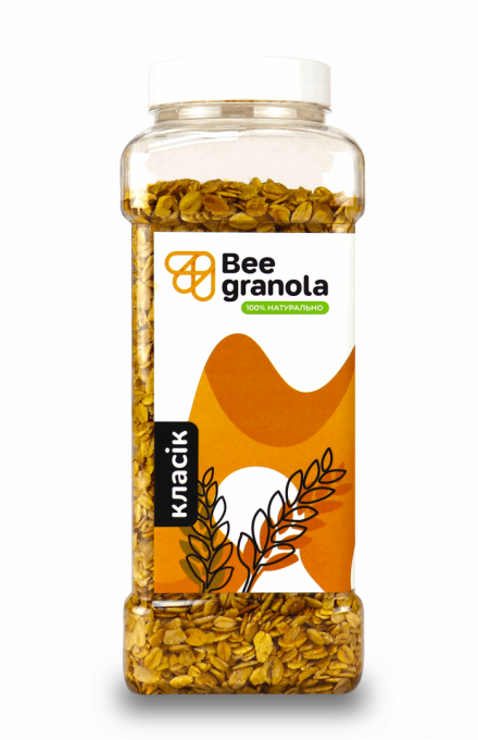 Beegranola Полуниця 1кг