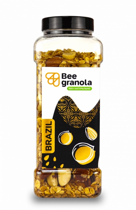 Beegranola Арахісова паста 500г
