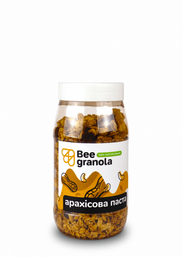 Beegranola Арахісова паста 250г