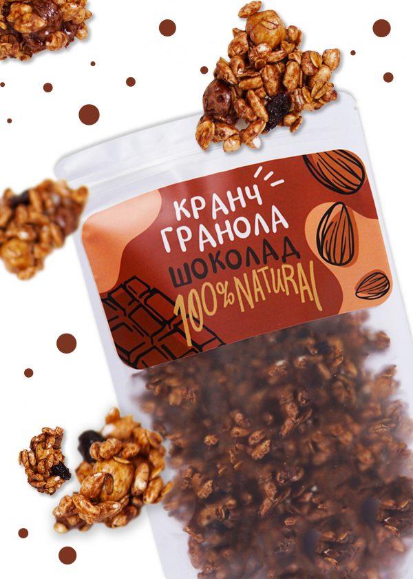 Beegranola Кранч шоколад